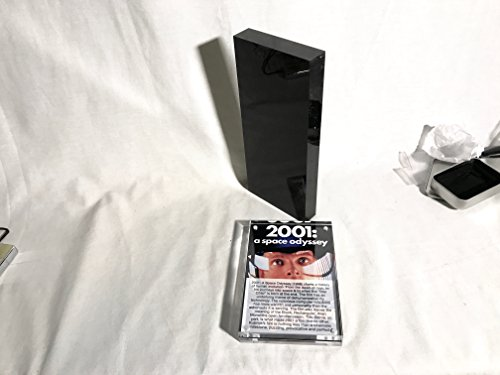 Odyssey Reels - Reel Art 2001: A Space Odyssey, Black Alien Monolith/Obelisk with Display Plaque