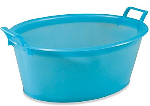 Plastime ovale bacino, Blue, 14 Litri Plastime_0101 1