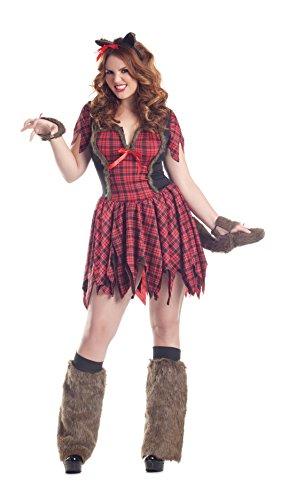 Werewolf Costume - Plus Size 3X - Dress Size (Plus Size Wolf Costume)