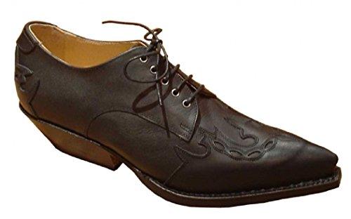 Sendra Schuhe 566 schwarz