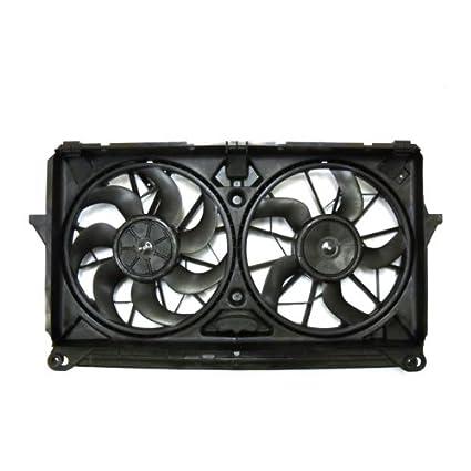 amazon com tyc 622230 replacement cooling fan assembly automotive rh amazon com