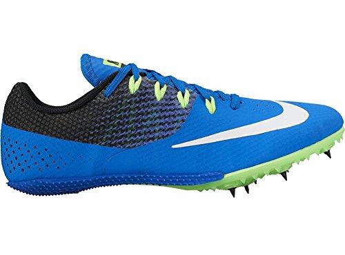 Men's Nike Zoom Rival S 8 Track Spikes Hyper Cobalt/White/Black/Ghost Green Size 8 M US