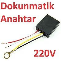 Robotekno Dokunmatik Anahtar Devresi 220V Dokunmatik Switch 220 Volt