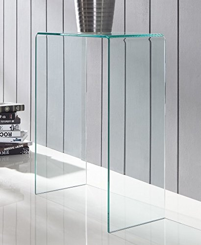Glass Console Table Extra Small