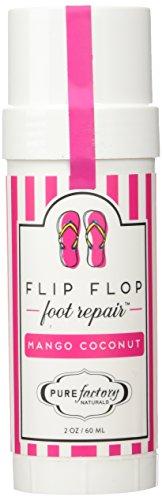 - Flip Flop Foot Repair by PURE Factory - Mango Coconut 2 oz. Moisturizer Feet