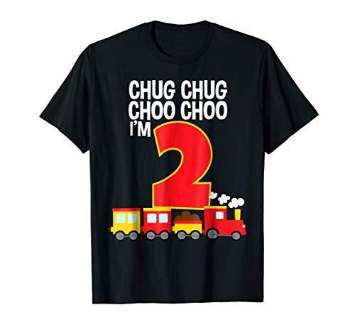 Chug Chug Choo Choo I'm 2 2nd Birthday Train Party - Train Chug Little