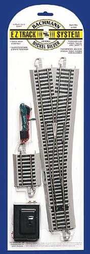 Bachmann Trains Snap-Fit E-Z Track #5 Turnout - Right