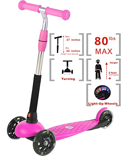 Voyage Kick Scooter for Kids Pink X4A