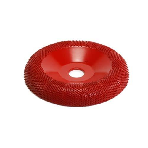 4' Donut Wheel Round Face (Medium Grit) 5/8' Bore Saburr Tooth 4 Donut Wheel