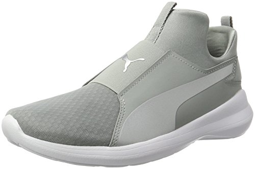 Zapatillas Mujer Rebel Gris Quarry para Puma Mid silver qp4wxEE7n