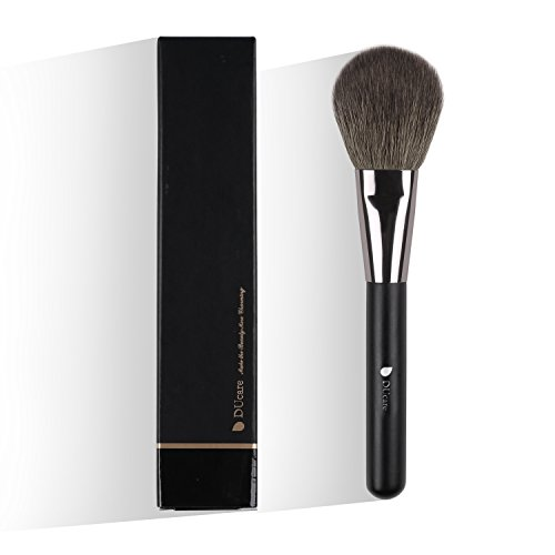 DUcare Professional Blush Powder Brush Makeup Brushes Natural Goat Bristle Face Foundation Blush Cosmetic Make Up Tool ()