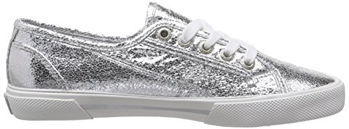 Pepe Silver Basses Pepe Jeans Metal Argent Jeans Aberlady Sneakers Femme Twpxq