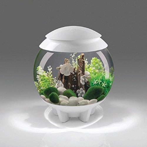 BiOrb 30L Halo Aquarium with Multi-Color Remote - White by biOrb