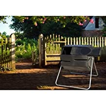 170 L Tumbling Composter with Large Sliding Door and Rodent Resistant