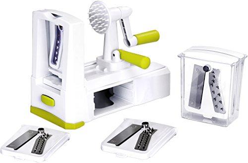 5 Blade Vegetable Spiralizer - Slicer, Noodle...
