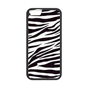 Custom Cute Zebra Stripe Durable Protector Plastic Snap On Cover Case for iPhone 5s