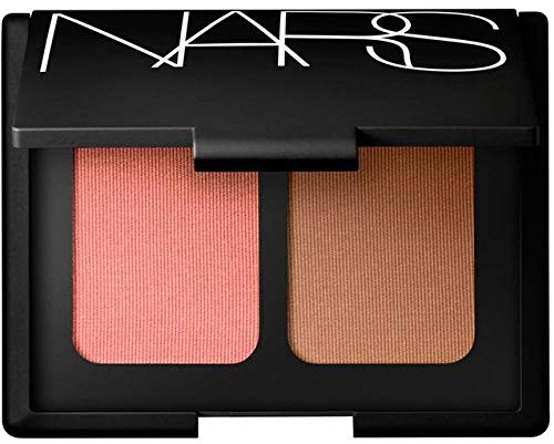 NARS Limited Edition Blush Bronzer Duo in Orgasm - Peachy Pink Shimmer and Laguna - Sheer Light Brown - for All Skintones 0.35 oz 10.5 grams from NARS