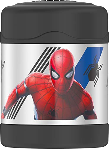 Thermos Funtainer 10 Ounce Food Jar, Spiderman (Spiderman Cookie Jar)