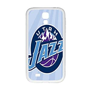 Utah Jazz NBA White Phone Case for Samsung Galaxy S4 Case