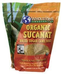 (Wholesome Sweetners Organic Sucanat Pouch ( 12x2 LB) ( Value Bulk Multi-pack))