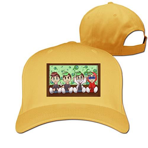 Baseball Caps Jack Dolly Golf Dad Hat Men Women Vintage Snapbacks Hats Yellow