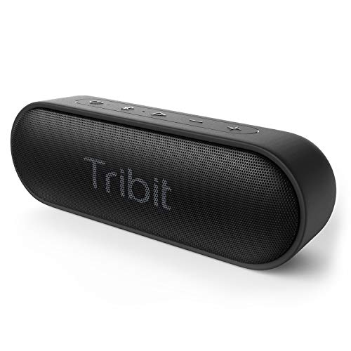 Tribit XSound Go Portable Bluetooth Speaker with Superior Loud Sound, IPX7 Waterproof, 24-Hour Playtime, 66ft Bluetooth Range, 12W Portable Wireless Speaker Perfect for Party, Travel, Outdoors