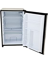 Lion Premium Grills 1001 Refrigerator with Stainless Steel Front Door, 32 by 20-1/8-Inch
