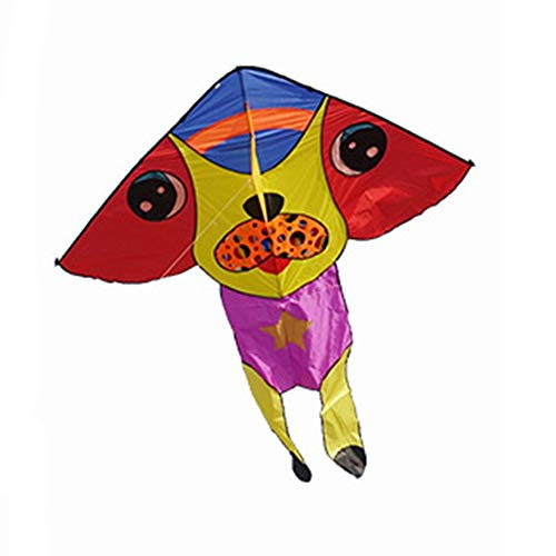 (Kite Flying Spring Toy Handmade Bag Packaging Creative Wang Wang Dog Kite for Children Can Be Used by Adults Kite line Wheel Puller Multi-Style)