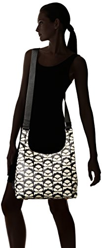 Womens Kiely Bag Orla Bag CHARCOAL Sling Shoulder Black Midi H7wZqaOx