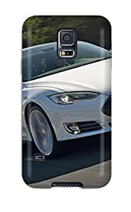 Sanp On Case Cover Protector For Galaxy S5 (tesla Model S 4)