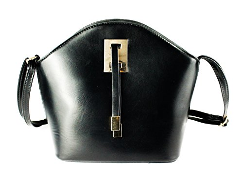 Bag Chic Women's x Redfox Classic 23cm 5cm Detail With Tie Shoulder 8cm Small 19 Black Ribbon x EqXdnd