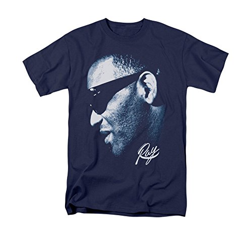 Navy Ray -- Ray Charles Youth T-Shirt, Youth X-Large