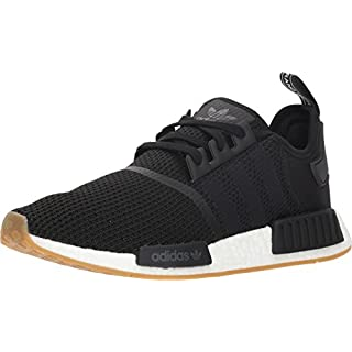 adidas Originals mens Nmd_r1 Sneaker, Black/Black/Gum, 12 US