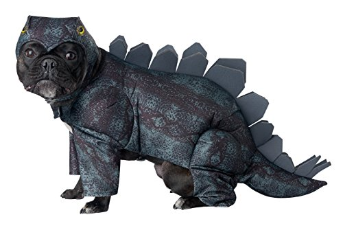 California Costumes Collections PET20168 Stegosaurus Dog Costume, -
