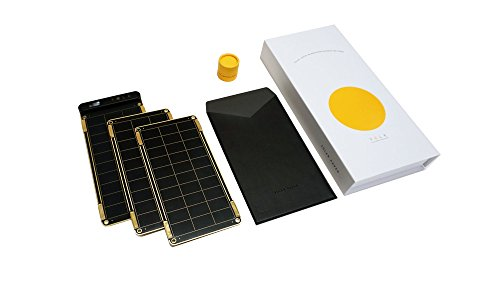 Solar Paper + Pouch, Paper-thin and Light Portable Solar Charger with Ultra-High-Efficiency (7.5W) by YOLK (Image #1)