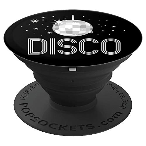 Vintage 70s Disco Ball Dance - PopSockets Grip and Stand for Phones and Tablets