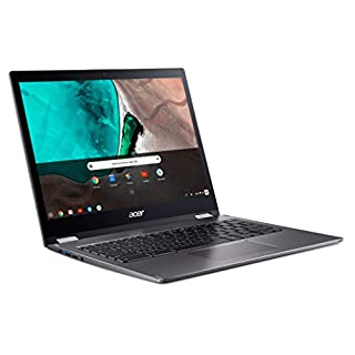"Acer Chromebook Spin 13 CP713-1WN-57LT 13.5"" Touchscreen 2 in 1 Chromebook Core i5-8350U 16GB RAM 128GB Flash Memory Steel Gray Model NX.EFJAA.02B"