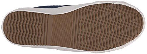 Eenvoudige Mens Wingman Mode Sneaker Marine Canvas