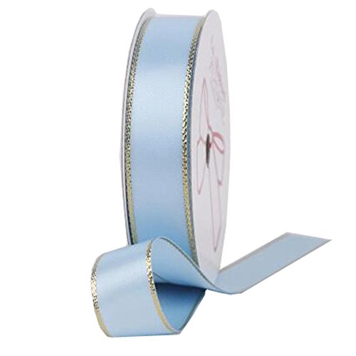 Decorative Riband Ribbon For Party/Wedding Bright Colours Riband, Light Blue by Kylin Express