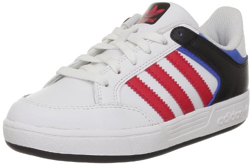 adidas Originals VARIAL J G65668 Unisex-Kinder Sneaker Weiß (RUNNING WHITE FTW / VIVID RED S13 / BLUEBIRD)