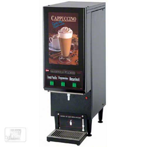 Cecilware (GB3CP) - Three-Flavor Cappuccino Dispenser - Compact (Flavor Cappuccino Dispenser)