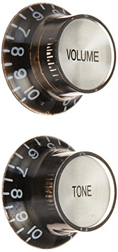 guitar knobs chrome - 2