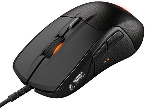 SteelSeries Rival 700, Optical Gaming Mouse, RGB Illumination, 7 Buttons, OLED Display, Tactile Alerts, (PC / Mac) - Black