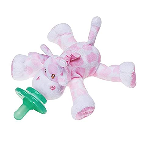 Nookums Paci-Plushies Pink Giraffe - Universal Pacifier ...