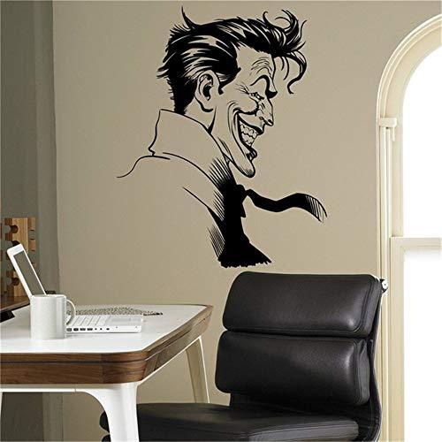Vinyl Wall Decal Quote Stickers Home Decoration Wall Art Mural Joker Supervillain Batman Sticker Superhero Home Decor Ideas Bedroom Kids Room -