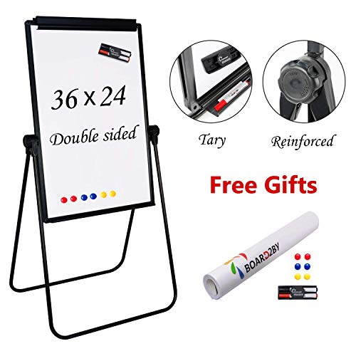 Board2by U Stand Whiteboard Easel - 24