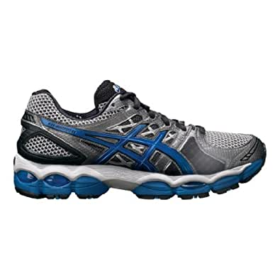 Mens ASICS GEL-Nimbus 14, Lightning/Royal, 12.5 EEEE