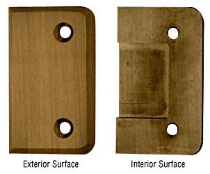 (C.R. LAURENCE CL2ABR CRL Antique Brass Cologne Watertight Cover Plate by C.R. Laurence)