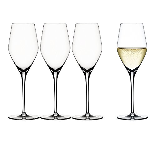 Spiegelau 4400185 Authentic Champagne Flute (Set of 4), Clear ()