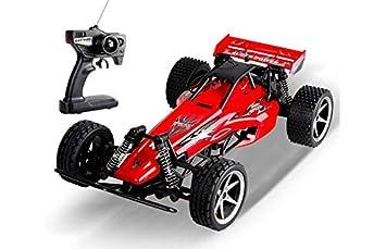 RCTecnic Coche Teledirigido RC Street Buggy Para Niños Velocidad 15 km/h Escala 1:18 v2.0 | Coche Radiocontrol a Batería Con Cargador Regalo para Niños ...